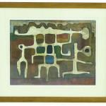 Peinture sur Papier 65 cm x 49 cm