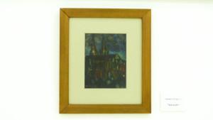 Peinture sur papier 25,5 x 19,5 cm